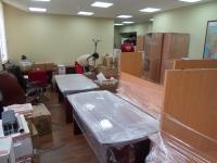 Услуги по упаковке офисного имущества