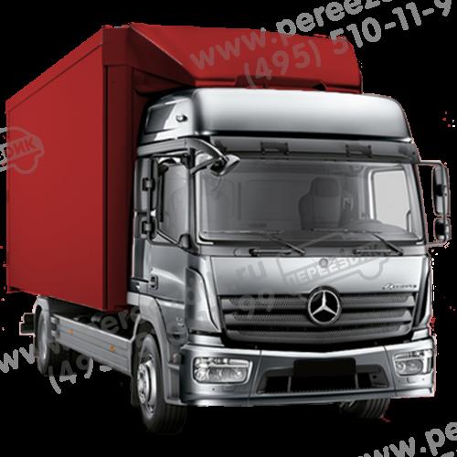 аренда 36куб грузовика без водителя мерседес