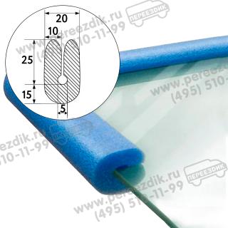 Упаковочный уголок для стекла