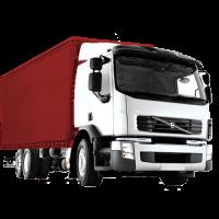 Мебельный грузовик Volvo
