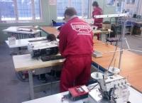 Перевозка имущества швейной фабрики