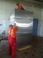 Перенос холодильной установки весом 920кг
