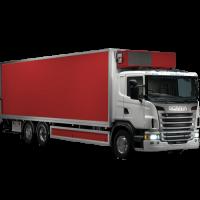 scania310 перевозка на рефе 15 тонн с гидролифтом