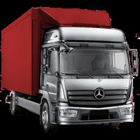 Аренда грузовика с гидробортом на переезд квартиры, офиса, дачи